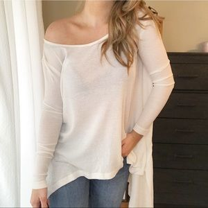 Free People | The incredible tee thermal white XS